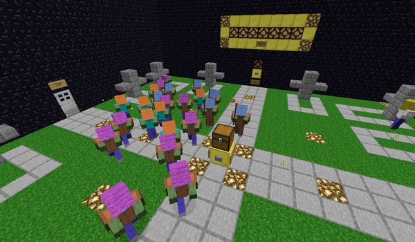 Graveyard Defense 2 Map for Minecraft 1.5.1