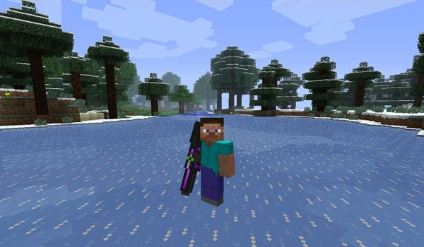 RedStone Handguns Mod for Minecraft 1.6.2 and 1.6.4