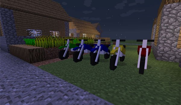 The DirtBike Mod for Minecraft 1.7.2 and 1.7.10