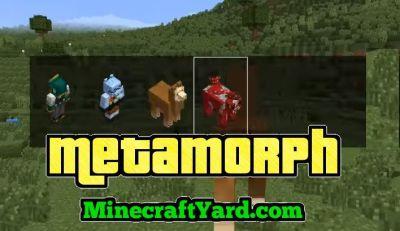 minecraft morph mod 1.6 4