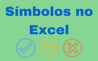 Mapa de Símbolos das Fontes Webdings e Wingdings no Excel