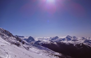 Skiing in Whistler   Canada