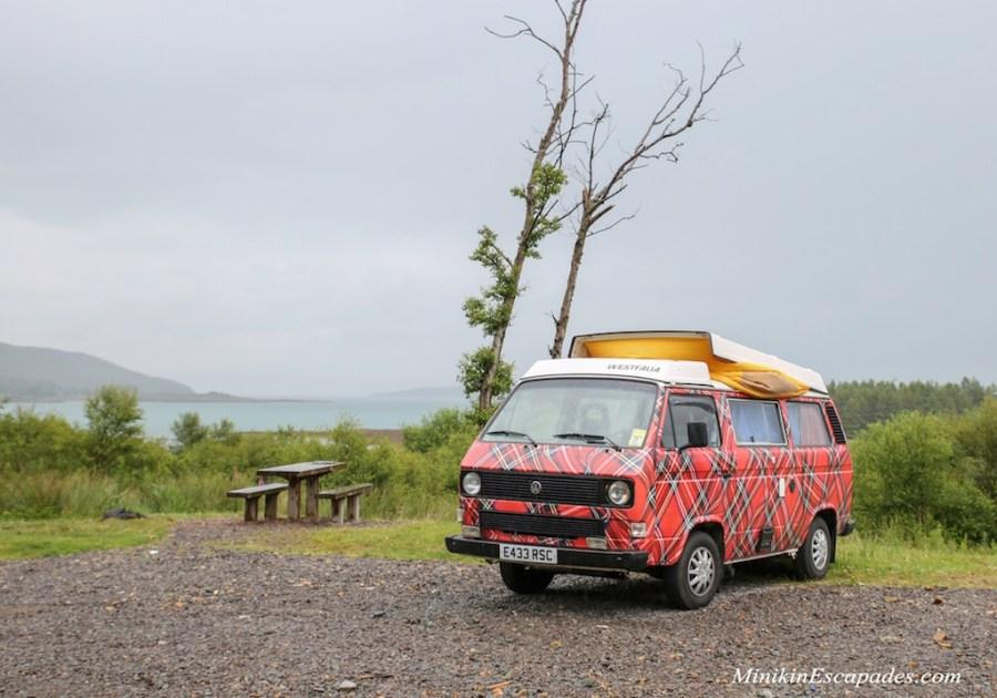 Campervan road trip in Scotland