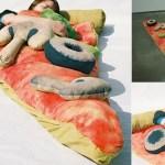 Vreća za spavanje u obliku pizze