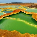 Pogled na Afriku iz vazduha
