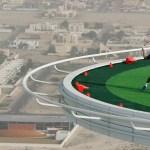 Teniski teren na visini od 300 metara