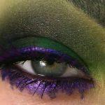 Našminkajte oči u stilu superheroja