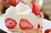 Brzo i bez pečenja_Krem torta s jagodama