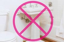 5 stvari koje nikada ne trebate držati u kupatilu