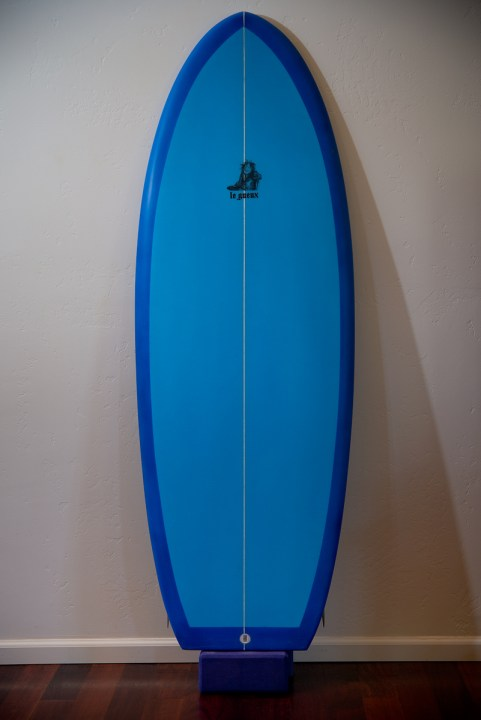 Le Gueux by Shaper Ted Heople of The Surf Boards.