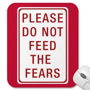 image please do not feed the fears