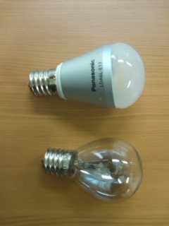 LEDとクリプトン