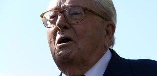 Tchernobyl: Jean-Marie Le Pen «irradié» par le nuage radioactif