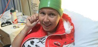 Un bonnet pour contrer la perte de cheveux pendant la chimiothérapie