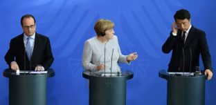 Euro 2016: La blague de Matteo Renzi n'a pas du tout fait rire Angela Merkel