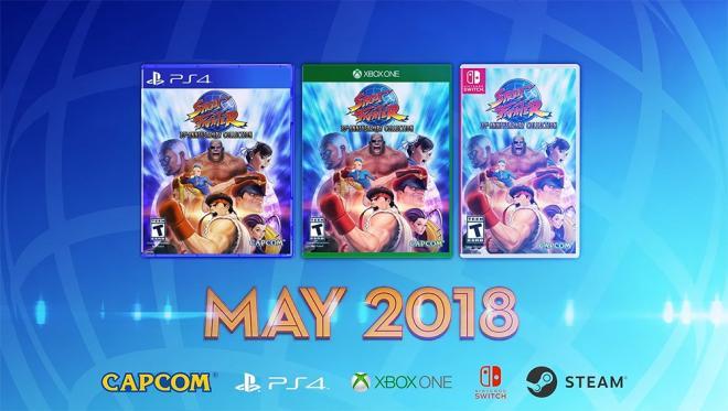 Une série Street Fighter en développement