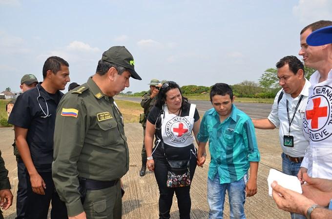 DSC 1729 Copiar ELN libera a auxiliar de policía secuestrado en Tarazá. Fotos