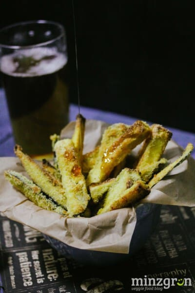 Knusprige Auberginen-Pommes