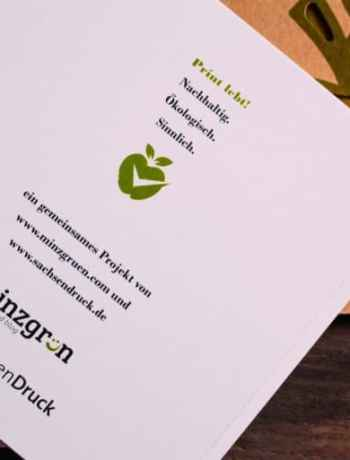 Kochbuch mal anders - mit SachsenDruck