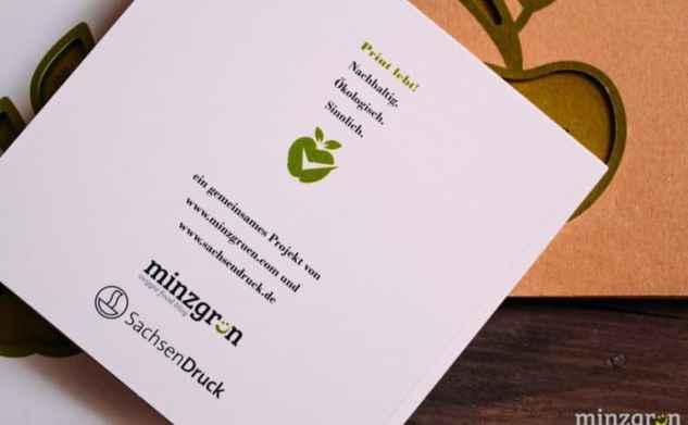 minzgrün goes print: Kochbuch mal anders