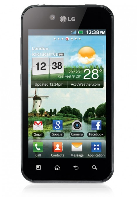 LG Optimus Black en México