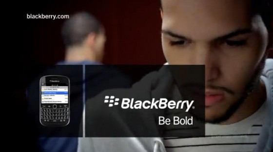 Blackberry Be Bold