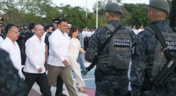 Gendarmería de la Policía Federal, presente en Yucatán