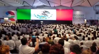 Balance positivo del III Informe de Rolando Zapata Bello