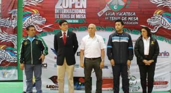 Concluye el II Open Internacional de Tenis de Mesa en Yucatán.