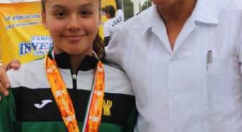 Kamilla Jiménez destaca en Triatlón Nacional en Progreso