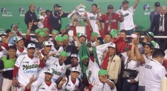 México se corona invicto en la Serie del Caribe 2016