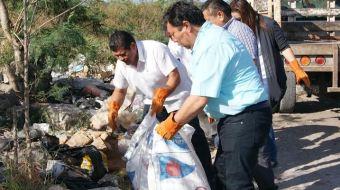 En Motul inician trabajos de saneamiento del Relleno Sanitario