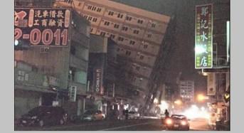 Terremoto de 6.4 grados sacude a Taiwan