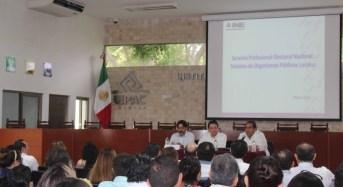 Avanza profesionalización de los institutos electorales