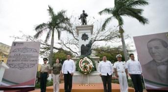 Yucatán, estado de leyes donde imperan la paz y prosperidad