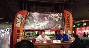 Franco de Vita en el Coliseo Yucatán a favor de la Campaña Sindrome de Down