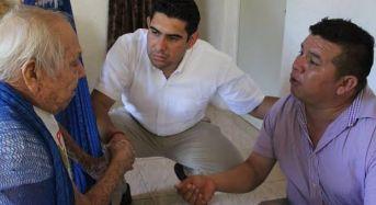 GobYucatán construirá vivienda a persona de 90 años que fue desalojado en Chablekal.