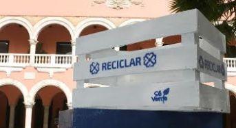 """Inicia el Ayuntamiento de Mérida """"Programa de reciclaje en las oficinas municipales"""""""