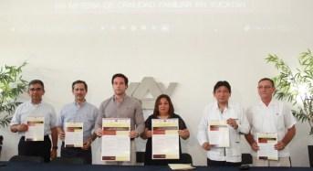 Buscan hacer más eficiente la justicia familiar oral en Yucatán