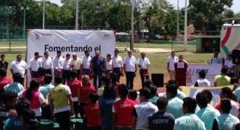 Arranca en Yucatán fútbol por la inclusión de la delegación Sedesol