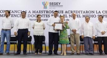 Yucatán destaca en eficiencia terminal del nivel medio superior