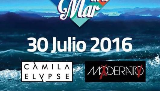 Camila y Moderato en Música en el Mar 30 de julio
