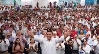 Convoca Rolando Zapata a renovar y revitalizar al PRI de Yucatán de cara al 2018
