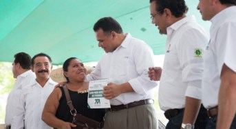 No nos detendremos hasta mejorar la vida de las familias yucatecas: RZB
