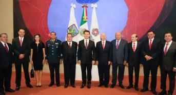 RZB asiste al sexto Informe de Gobierno de Zacatecas
