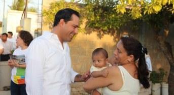En Mérida se realizarán 2,000 acciones de vivienda con una inversión de $120 millones