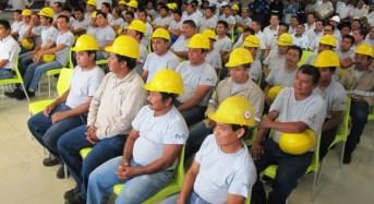 Programa Capacitar beneficia a más de 800 trabajadores de empresa yucateca