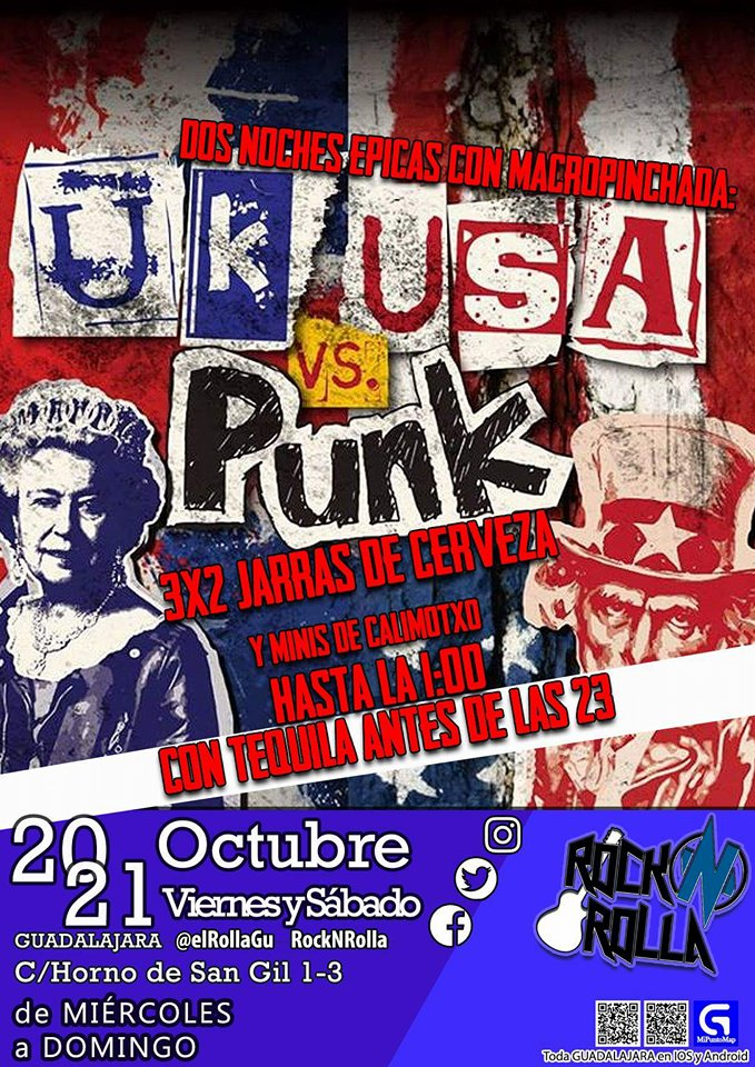 UK USA vs. Punk
