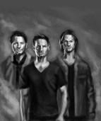Sam and Dean Winchester, Castiel, Supernatural