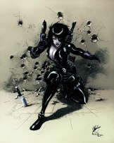Domino female x-men x-force